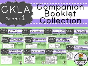 CKLA 1st Grade Domain Companion Booklet GROWING BUNDLE  - GRADE LEVEL LICENSE