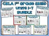 CKLA 1st Grade Skills BUNDLE Units 1-7