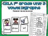 CKLA 1st Grade Skills Unit 3 Vowel Digraph Sorting Activities