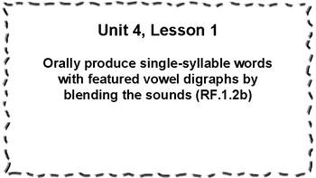 CKLA 1st Grade Skills: Unit 4 Objectives