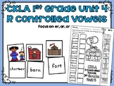 CKLA 1st Grade Skills Unit 4 R-Controlled Vowels Sorting Activities