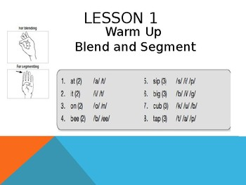CKLA 1st Grade Unit 1 Lessons 1-5