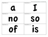 CKLA 1st Grade Tricky Words Work Flash Cards