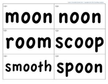 CKLA 1st Grade Unit 3 Decodable Words Flash Cards