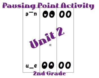 CKLA 2nd Grade Unit 2 Slap the Spelling Game Cards