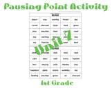 CKLA 1st Grade Unit 7 Bingo