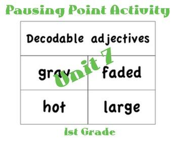 CKLA 1st Grade Unit 7 Phrase Flip Book