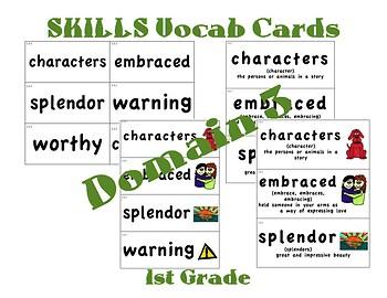 CKLA 1st Grade Vocabulary Cards Domain 3