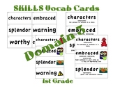 CKLA 1st Grade Vocabulary Cards Domain 3
