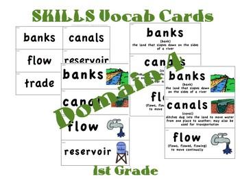 CKLA 1st Grade Vocabulary Cards Domain 4