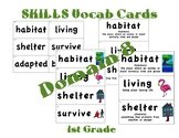 CKLA 1st Grade Vocabulary Cards Domain 8
