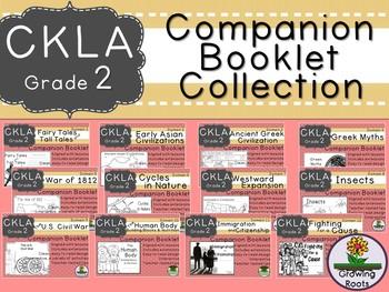 CKLA 2nd Grade Domain Companion Booklet GROWING Bundle