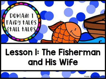 CKLA 2nd Grade D1L1: The Fisherman and His Wife Flipchart by ...