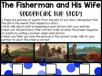 CKLA 2nd Grade D1L1: The Fisherman and His Wife Flipchart
