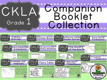 CKLA 1st Grade Domain Companion Booklet BUNDLE