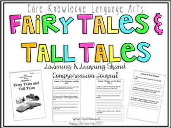 CKLA 2nd Grade Listening & Learning Comprehension Journal-Domain 1
