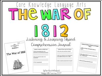 CKLA 2nd Grade Listening & Learning Comprehension Journal-Domain 5