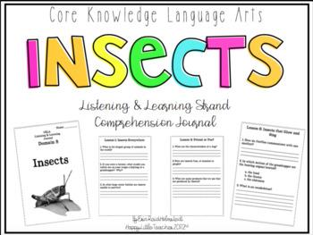 CKLA 2nd Grade Listening & Learning Comprehension Journal-Domain 8