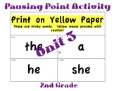CKLA 2nd Grade Unit 3 Tricky Words Flashcards (Pausing Point Activities)