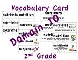 CKLA 2nd Grade Vocabulary Cards Domain 10