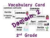 CKLA 2nd Grade Vocabulary Cards Domain 2
