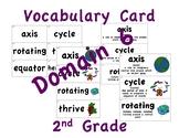 CKLA 2nd Grade Vocabulary Cards Domain 6