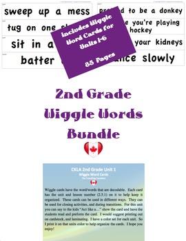 CKLA 2nd Grade Wiggle Words BUNDLE