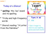 CKLA  2nd grade Unit 3 Lesson 1-5