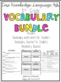 CKLA 3rd Grade Listening & Learning Vocabulary Bundle