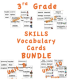 CKLA 3rd Grade SKILLS Vocabulary Cards BUNDLE