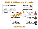 CKLA 3rd Grade SKILLS Vocabulary Cards Unit 1