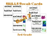 CKLA 3rd Grade SKILLS Vocabulary Cards Unit 2