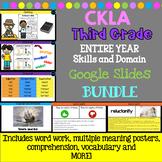 CKLA 3rd Grade Skills PPT Google Slides Bundle