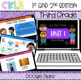 CKLA 3rd Grade Skills Strand Unit 1 PPT & Google Slides (A