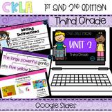 CKLA 3rd Grade Skills Strand Unit 2 PPT & Google Slides (A