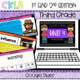 CKLA 3rd Grade Skills Strand Unit 4 PPT & Google Slides (A