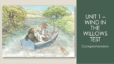 CKLA 3rd Grade Unit 1 Wind In the Willows Test