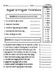 CKLA 3rd Grade Unit 3 Spelling Homework Bundle