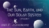 CKLA 3rd Grade Unit 7 Astronomy, #1 PowerPoint