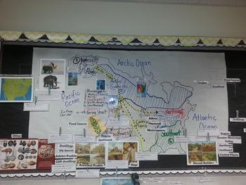 CKLA 3rd grade Domain 8 Vocabulary Native American Regions
