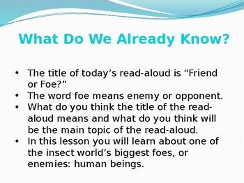 CKLA 8 lesson 8