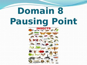 CKLA 8 lesson pausing point