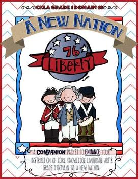 CKLA A New Nation, Revolutionary War Listening Journal