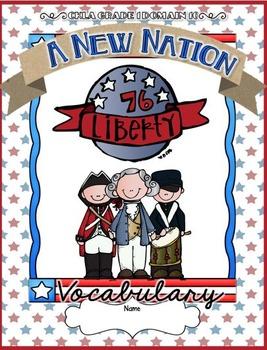 CKLA A New Nation, Revolutionary War Vocabulary Packet