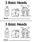 CKLA All About Me 3 Basic Needs Emergent Reader