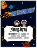 CKLA Astronomy, Grade 1, Domain 6 Listening Journal
