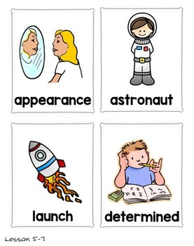 CKLA Astronomy, Grade 1, Domain 6 Vocabulary Pack