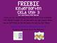 CKLA CVC Cut and Paste Freebie