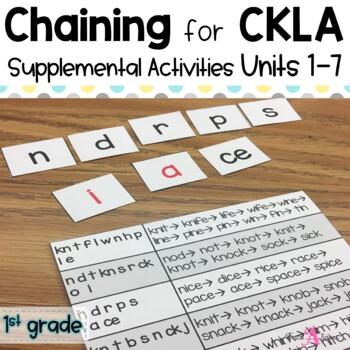 CKLA Chaining First grade Unit 1 - Unit 7