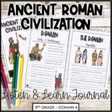 """CKLA """"Ancient Roman Civilization"""" Core Knowledge  Domain 4 Listening Journal"""